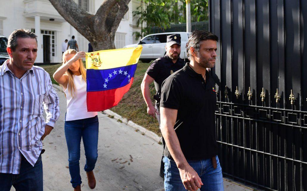 Líder opositor venezolano Leopoldo López ya está en Madrid
