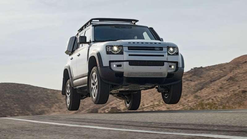 Land Rover Defender es la SUV del Año 2021 de MotorTrend