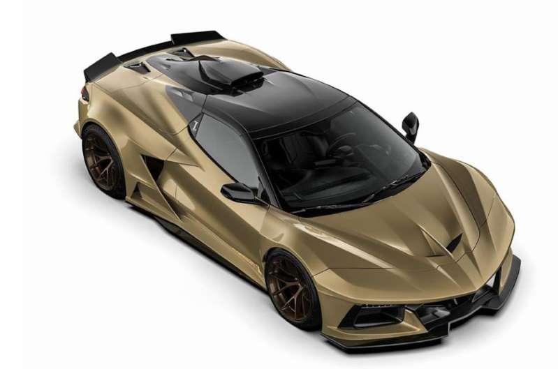 Competition Carbon C8RR, un Corvette con nuevo diseño
