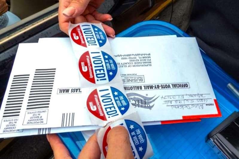 EEUU: El voto anticipado ha superado ya al de 2016