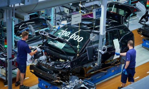 BMW registra 200,000 unidades producidas del i3