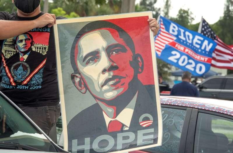 Obama, el mejor refuerzo de Biden, pide votar para dejar atrás la oscuridad