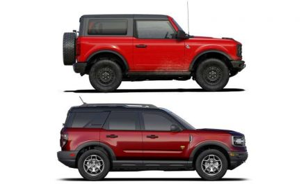 Las diferencias y similitudes entre Ford Bronco y Bronco Sport