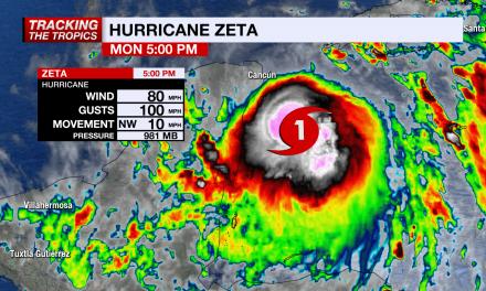 """Zeta"" se fortalece a huracán rumbo a Quintana Roo y Yucatán"