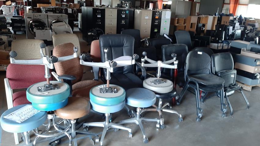 Subasta de artículos de informática en el condado Hidalgo
