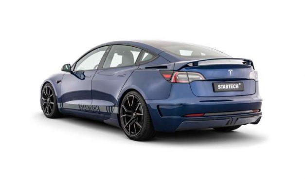 Startech perfecciona la aerodinámica e imagen del Tesla Model 3