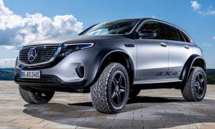 Mercedes-Benz EQC 4×4 Concept es un SUV todoterreno totalmente eléctrico