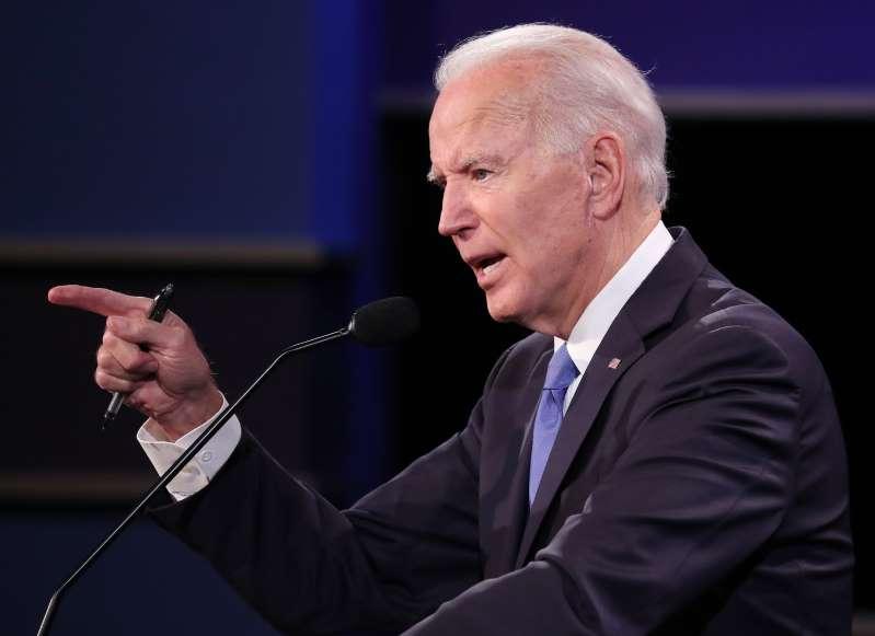 "Biden: ""Mañana podemos poner fin a la Presidencia que dividió a la nación"""