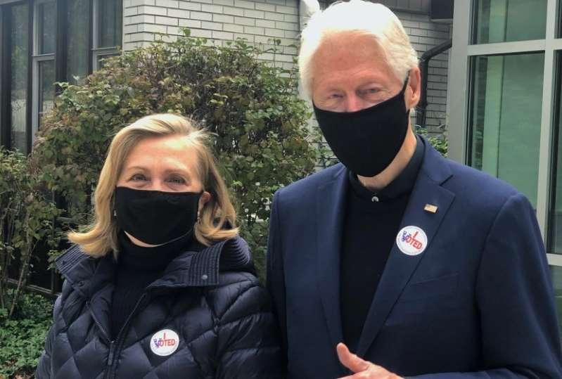 Hillary y Bill Clinton te dicen por quién votaron