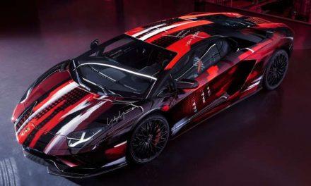 Este Lamborghini Aventador S fue creado por uno de los diseñadores de moda más famosos en Japón