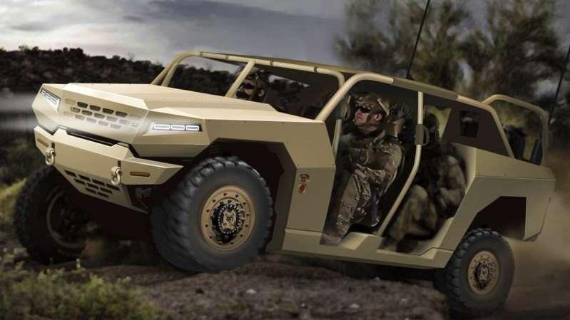 Kia producirá y comercializará un vehículo militar similar al Hummer