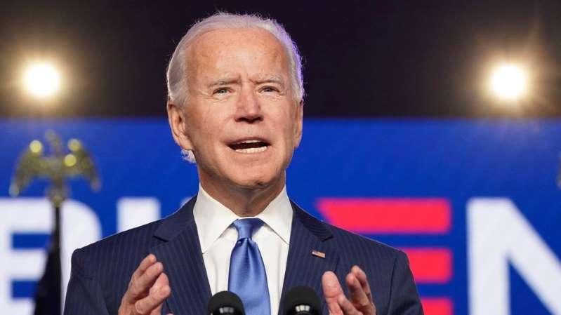 """""""Es el honor de mi vida"""": Joe Biden se dirige a los estadounidenses como presidente electo de EE.UU."""