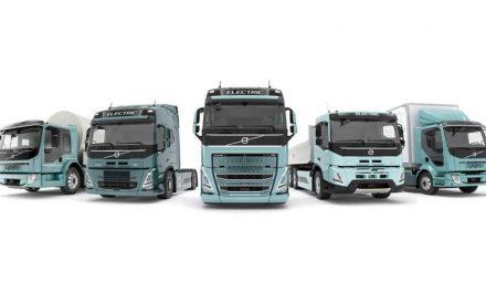 Volvo Trucks lanzó completa línea de camiones eléctricos
