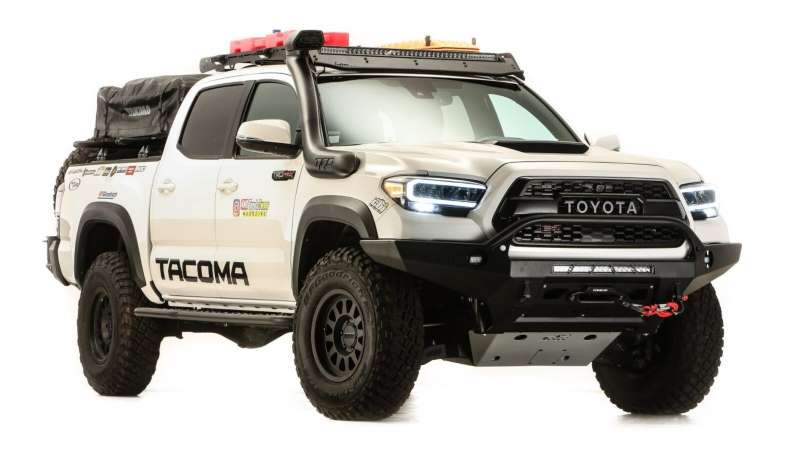 Toyota Tacoma Overland-Ready es un pickup con grandes capacidades off-road y de almacenamiento