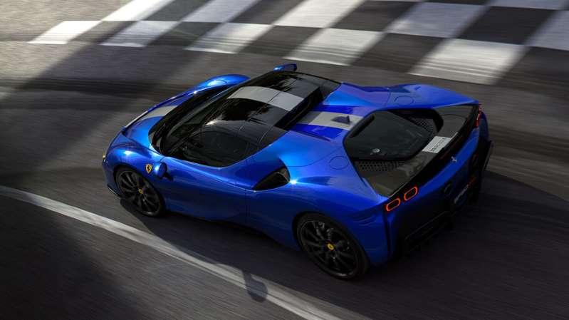 SF90 Stradale Spider: el auto híbrido de Ferrari