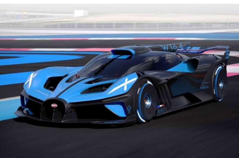 Aquí está el Bugatti Bolide