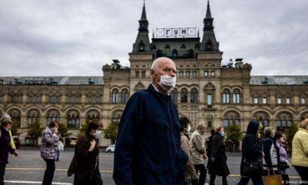Rusia suma nuevo récord de casos diarios de coronavirus