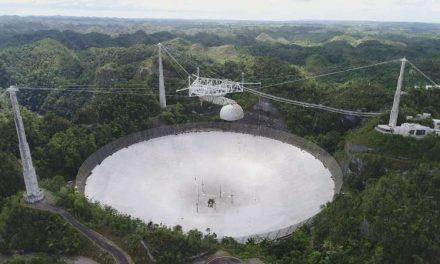 Buscan estabilizar estructura del Observatorio de Arecibo tras desprendimientos recientes de cables