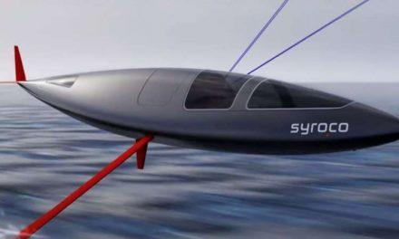 La embarcación a vela más rápida del mundo, en camino