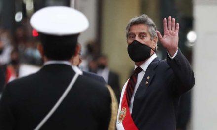 El presidente de Perú se reunió con los familiares de las víctimas de la represión policial