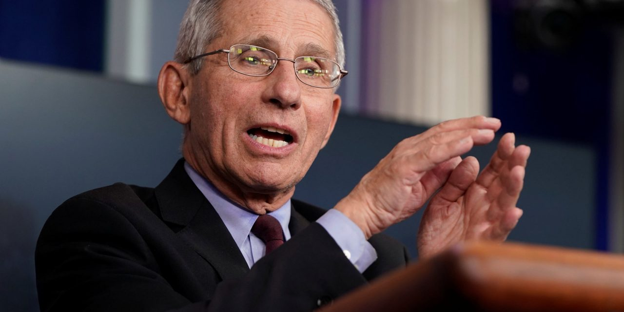 Fauci: Don't abandon masks, social distancing after getting vaccine