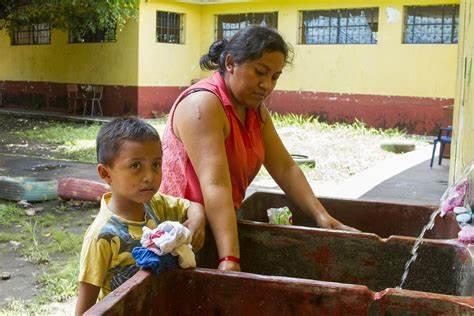 La Unicef prevé crisis sanitaria por falta de agua en Centroamérica