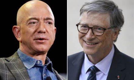 Jeff Bezos y Bill Gates celebran triunfo de Joe Biden y  Kamala Harris
