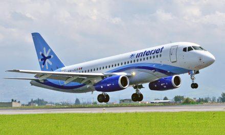 La casi quebrada Interjet, cancela 19 vuelos en pleno 1 de noviembre