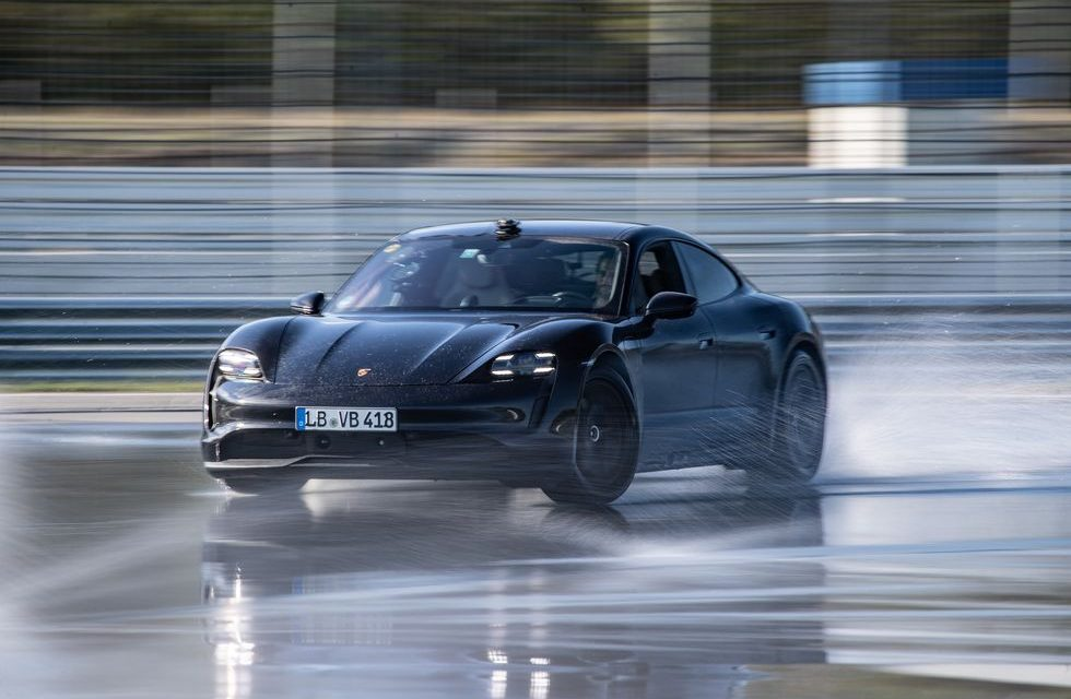 Porsche Taycan Sets Guinness Record for Longest Drift in an Electric Car