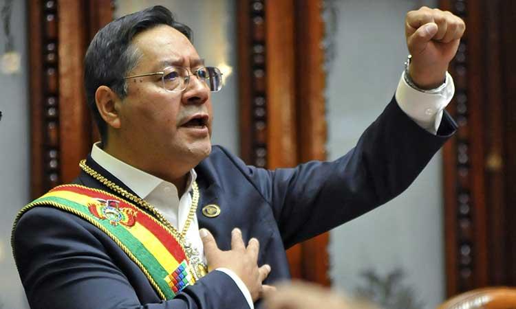 Luis Arce asume como presidente de Bolivia