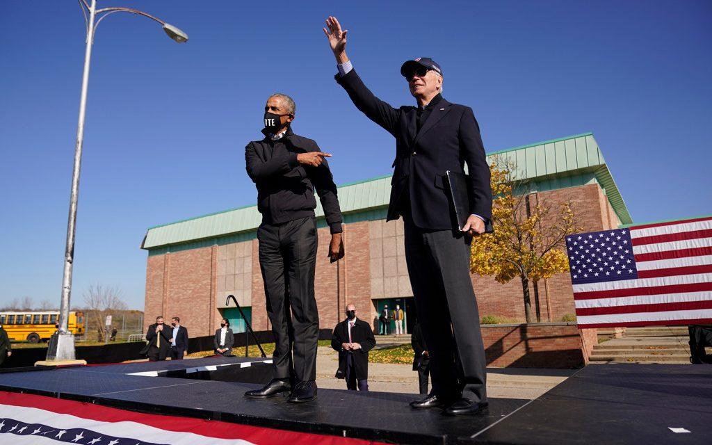 Obama boosts Biden in must-win Michigan