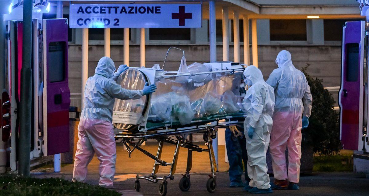 Italia detecta un contagio con la variedad de coronavirus salida del Reino Unido