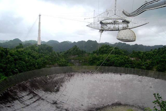 Colapsa el icónico observatorio de Puerto Rico