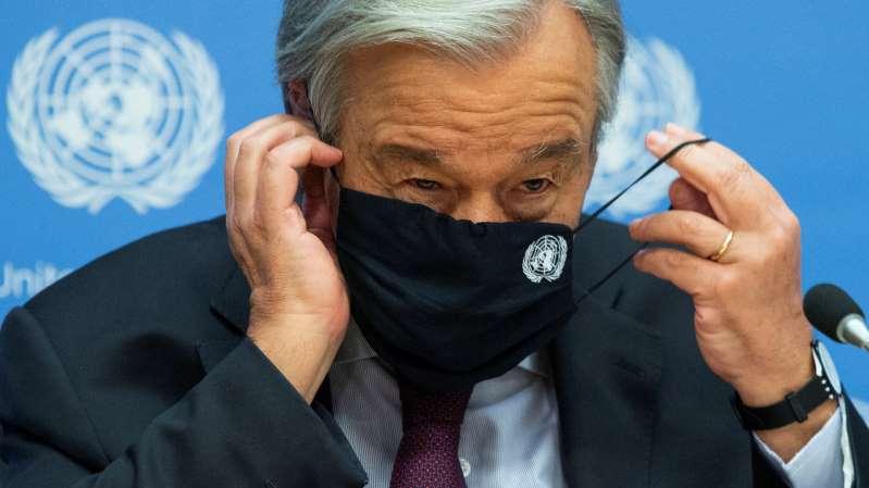 Naciones Unidas advierte sobre una catástrofe humanitaria para el 2021