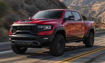 La Ram 1500 TRX es el mejor pickup de 2021, según MotorTrend