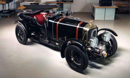 Bentley fabrica un Blower idéntico al original de la década de 1920