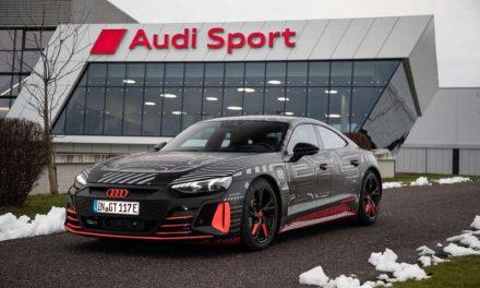 Audi comienza la producción del e-tron GT en Alemania