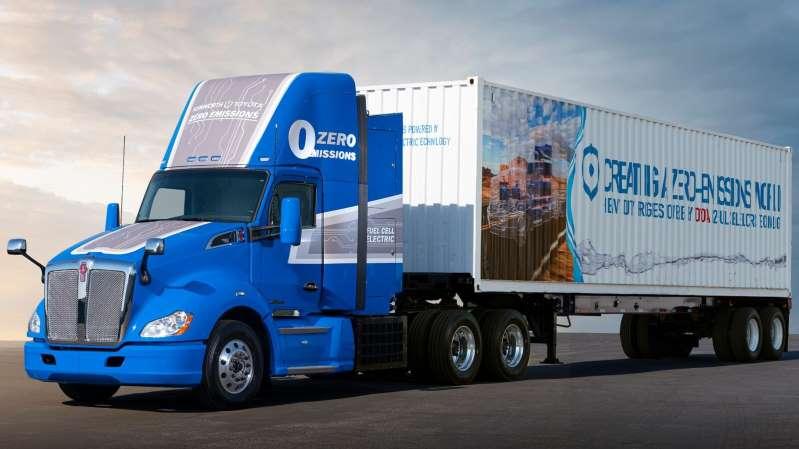 Toyota y Kenworth crean un camión eléctrico de celda de combustible de hidrógeno