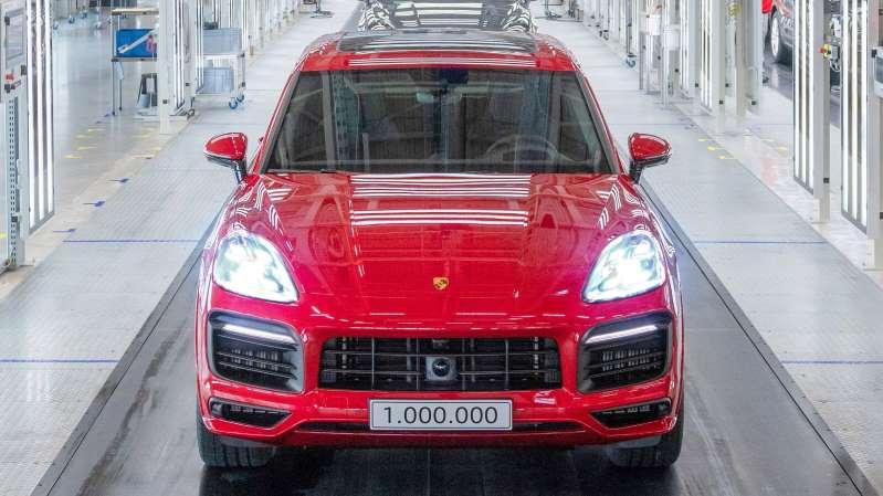 La Porsche Cayenne registra un millón de unidades producidas