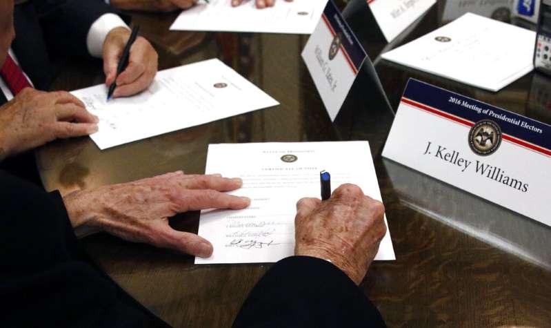 El Colegio Electoral determina este lunes el final de la carrera presidencial en Estados Unidos