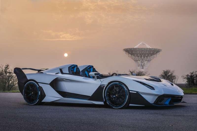 ¡Checa! El Lamborghini SC20 es un super auto tan exclusivo que solo existe uno en el mundo