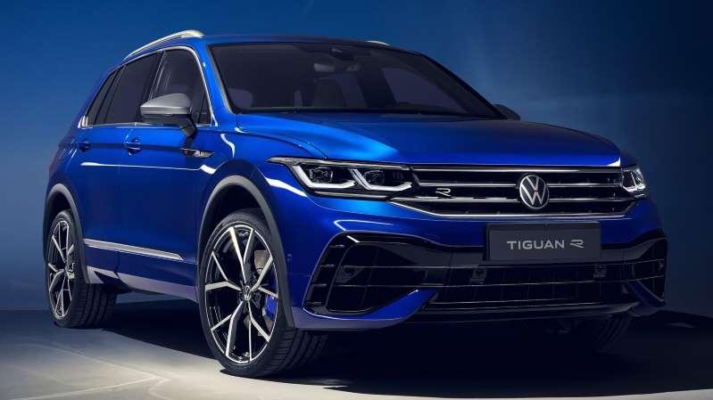 Volkswagen Tiguan R 2021: más de 300 hp y una dinámica de conducción netamente deportiva