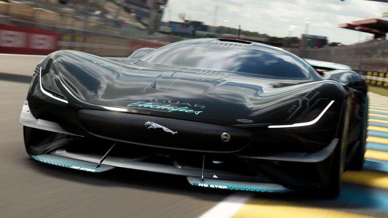 Jaguar Vision Gran Turismo SV: un super auto eléctrico