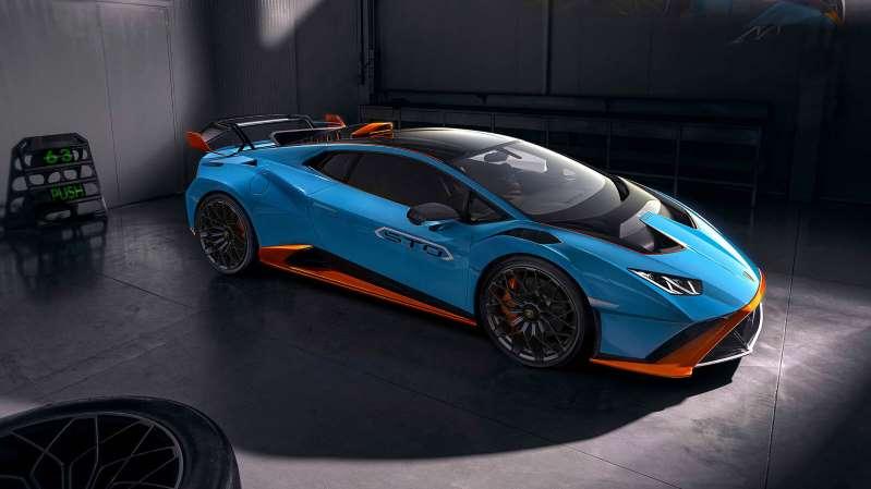 El Lamborghini Huracán STO es un auto de carreras que puede rodar en las calles