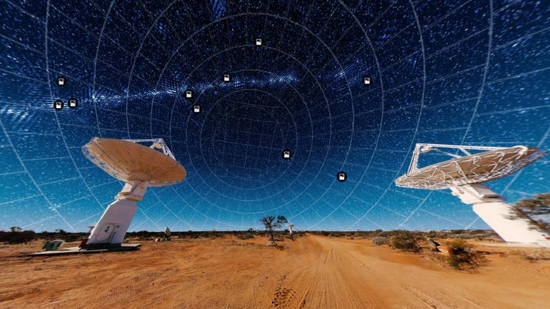 """El """"nuevo mapa del universo"""" con millones de galaxias creado en tiempo récord"""