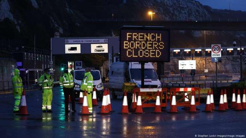 El Reino Unido, aislado del mundo por el virus, teme por sus aprovisionamientos