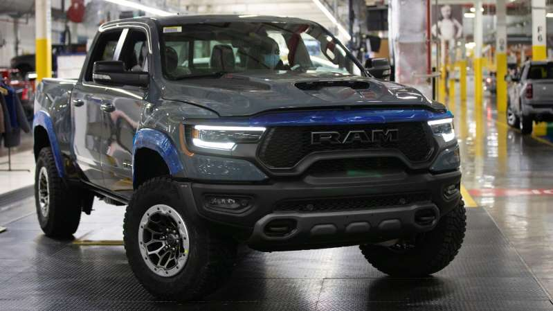 FCA inicia la producción de la Ram 1500 TRX 2021 en Michigan