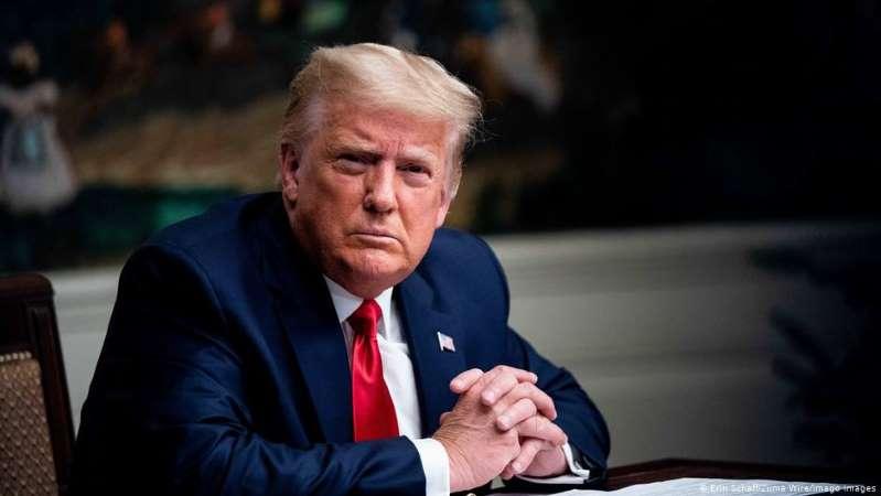 El mal perdedor, Donald Trump, se niega a firmar ley de alivio por pandemia