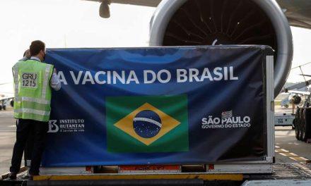 Brasil recibe otras 5,5 millones de vacunas contra el Covid-19