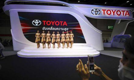 Toyota alcanza nuevo récord mensual en venta de vehículos